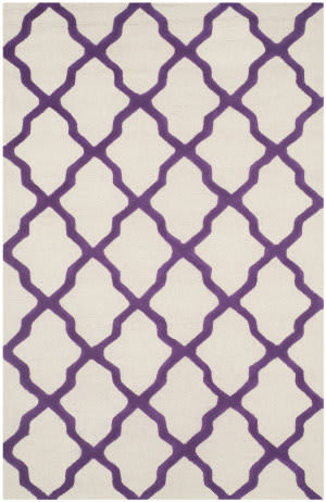 Safavieh Cambridge Cam121v Ivory - Purple Area Rug