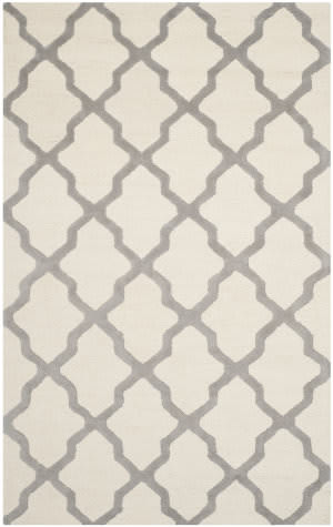 Safavieh Cambridge Cam121y Ivory / Silver Area Rug