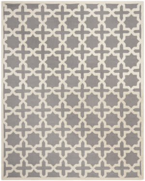 Safavieh Cambridge Cam125d Silver / Ivory Area Rug