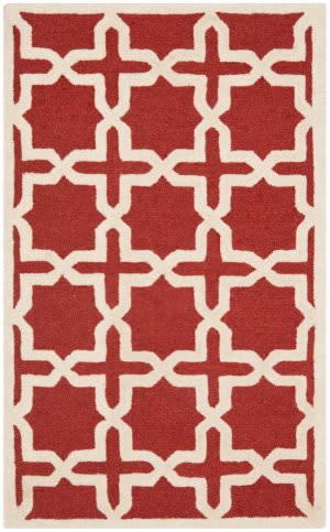 Safavieh Cambridge Cam125l Rust - Ivory Area Rug