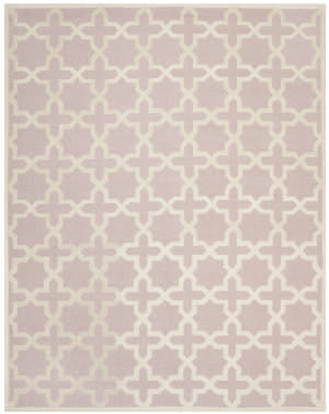 Safavieh Cambridge Cam125m Light Pink / Ivory Area Rug