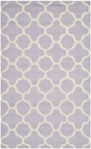 Safavieh Cambridge Cam130c Lavander / Ivory Area Rug