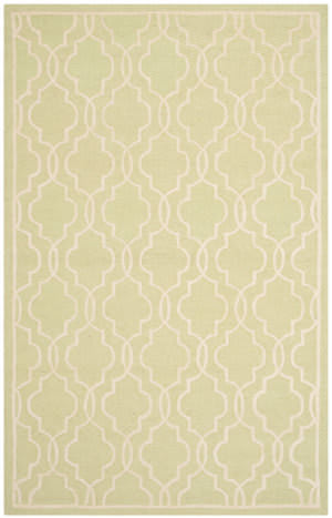 Safavieh Cambridge Cam131b Light Green - Ivory Area Rug