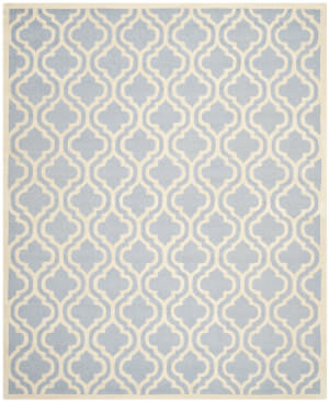 Safavieh Cambridge Cam132a Light Blue / Ivory Area Rug
