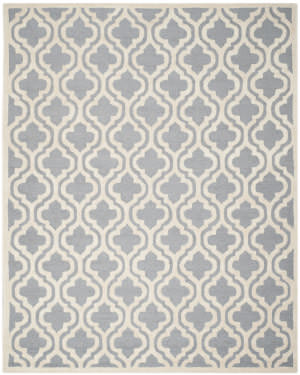 Safavieh Cambridge Cam132d Silver / Ivory Area Rug