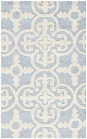Safavieh Cambridge Cam133a Light Blue / Ivory Area Rug
