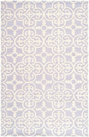 Safavieh Cambridge Cam133c Lavander - Ivory Area Rug