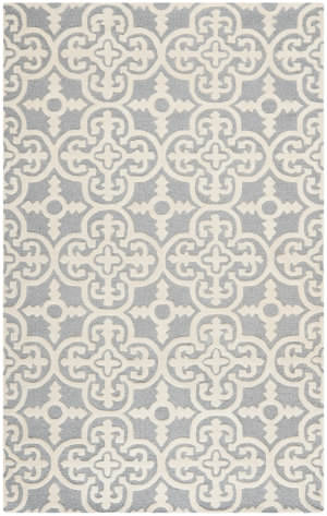 Safavieh Cambridge Cam133d Silver / Ivory Area Rug