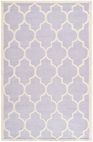 Safavieh Cambridge Cam134c Lavander - Ivory Area Rug