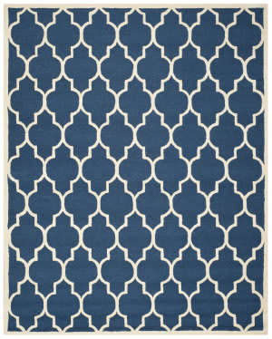 Safavieh Cambridge Cam134g Navy / Ivory Area Rug