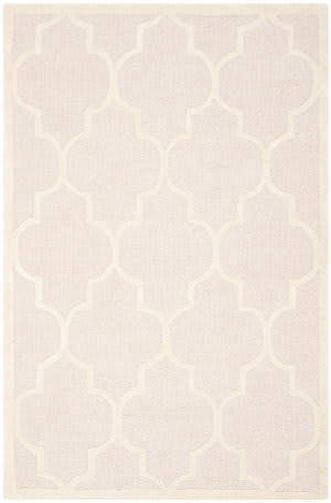 Safavieh Cambridge Cam134m Light Pink / Ivory Area Rug