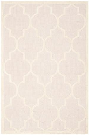 Safavieh Cambridge Cam134m Light Pink / Ivory Area Rug