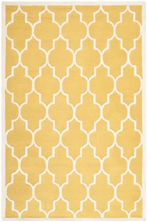 Safavieh Cambridge Cam134q Gold / Ivory Area Rug