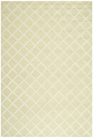 Safavieh Cambridge Cam135b Light Green / Ivory Area Rug