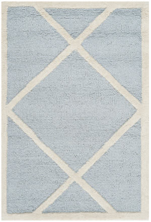 Safavieh Cambridge Cam136a Light Blue / Ivory Area Rug