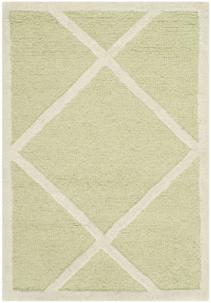 Safavieh Cambridge Cam136b Light Green / Ivory Area Rug