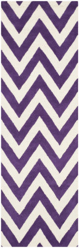Safavieh Cambridge Cam139k Purple / Ivory Area Rug