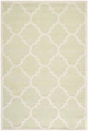 Safavieh Cambridge Cam140b Light Green / Ivory Area Rug