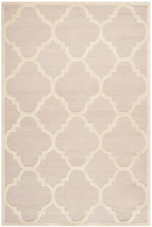 Safavieh Cambridge Cam140m Light Pink / Ivory Area Rug