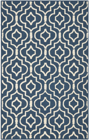 Safavieh Cambridge CAM141G Navy Blue / Ivory Area Rug