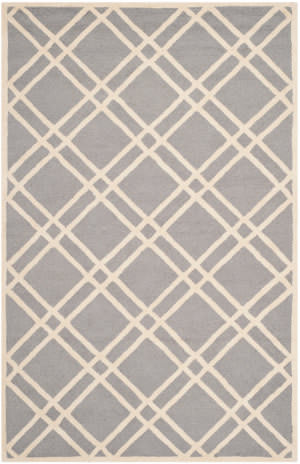 Safavieh Cambridge Cam142d Silver - Ivory Area Rug