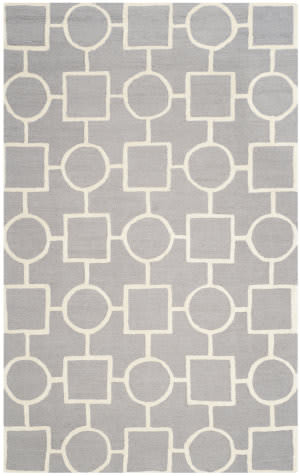 Safavieh Cambridge Cam143d Silver / Ivory Area Rug