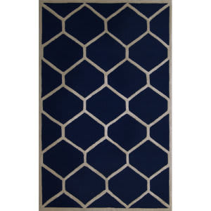 Safavieh Cambridge CAM144G Navy Blue / Ivory Area Rug