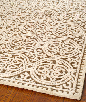 Safavieh Cambridge Cam232a Brown / White Area Rug