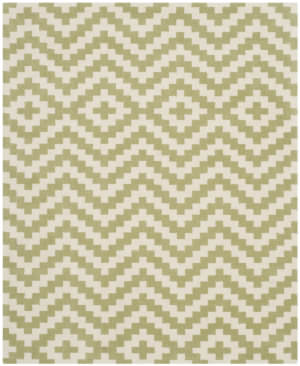Safavieh Cambridge Cam324n Ivory / Light Green Area Rug