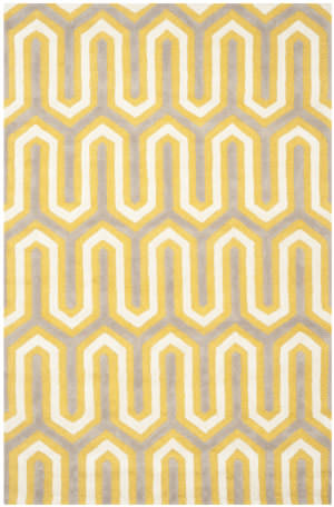 Safavieh Cambridge Cam351q Gold / Grey Area Rug