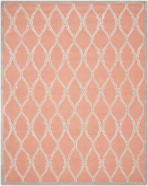 Rugstudio Sample Sale 111971R Coral / Ivory Area Rug