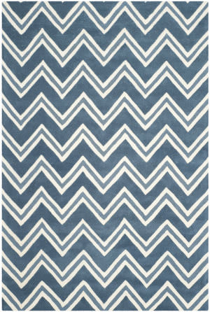 Safavieh Cambridge Cam581c Navy / Ivory Area Rug