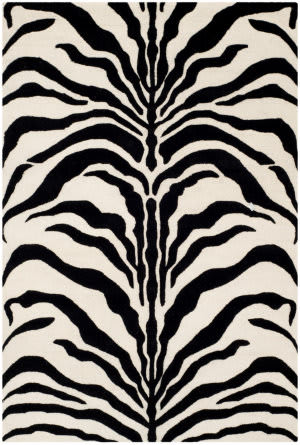 Safavieh Cambridge Cam709q Ivory - Black Area Rug