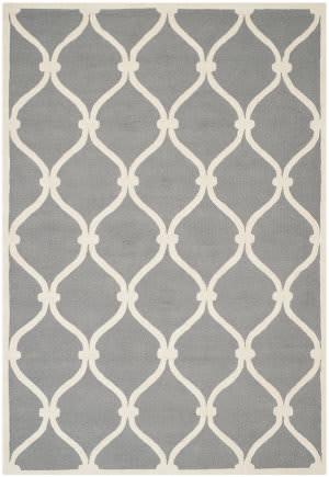 Safavieh Cambridge Cam710d Dark Grey / Ivory Area Rug