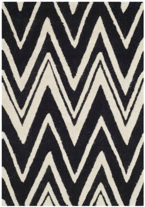 Safavieh Cambridge Cam711k Black - Ivory Area Rug