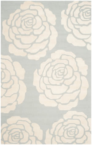 Safavieh Cambridge Cam782g Grey - Ivory Area Rug