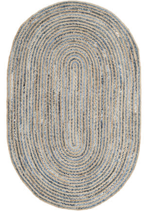 Safavieh Cape Cod CAP250A Natural / Blue Area Rug