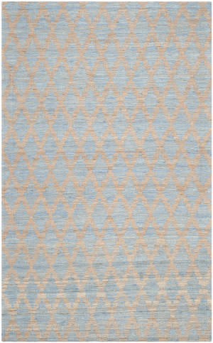 Safavieh Cape Cod Cap413a Light Blue - Gold Area Rug