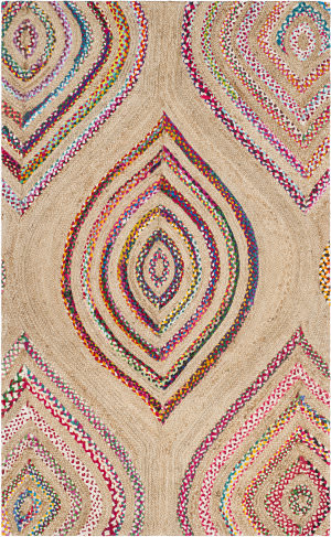 Safavieh Cape Cod Cap605a Natural - Multi Area Rug