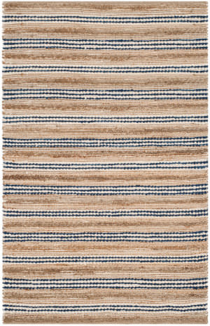 Safavieh Cape Cod Cap862b Natural - Blue Area Rug