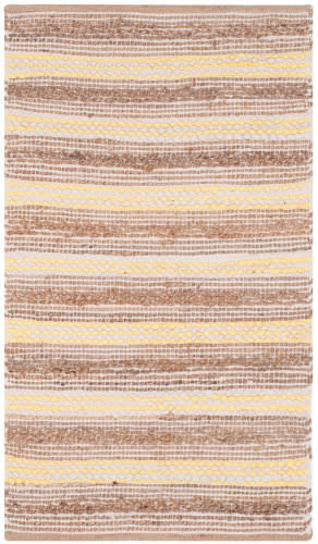 Safavieh Cape Cod Cap862f Natural - Yellow Area Rug