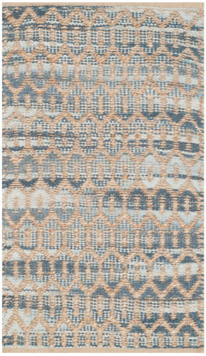 Safavieh Cape Cod Cap864c Natural - Grey Area Rug
