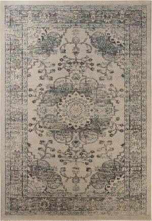 Safavieh Carmel Car271a Beige - Blue Area Rug