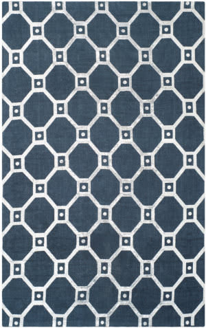 Safavieh Cedar Brook Cdr269m Navy - Silver Area Rug