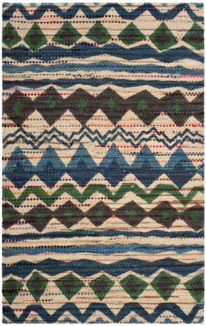Safavieh Cedar Brook Cdr322a Blue - Multi Area Rug
