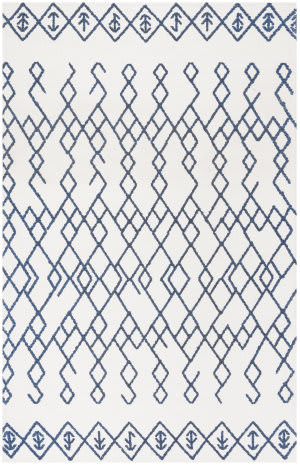 Safavieh Cedar Brook Cdr501c Ivory - Navy Area Rug