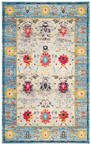 Safavieh Cedar Brook Cdr602a Blue - Light Grey Area Rug