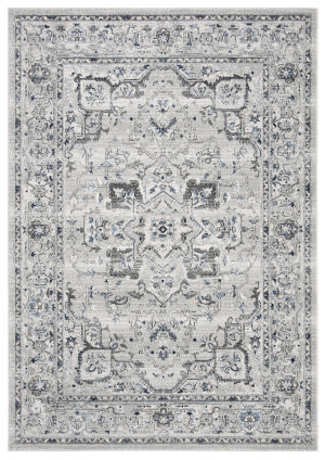 Safavieh Charleston Chl411f Grey - Dark Grey Area Rug