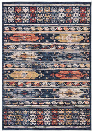 Safavieh Charleston Chl421n Navy - Ivory Area Rug