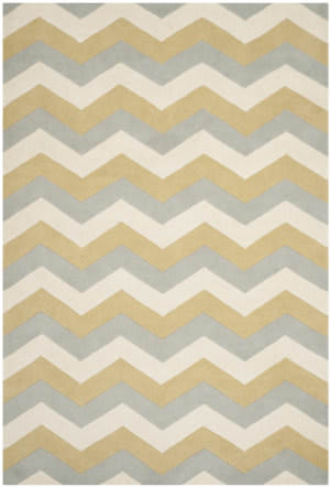 Safavieh Chatham Cht715m Grey / Gold Area Rug